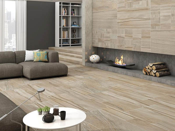 Cái nhìn ấm áp - Gạch hiệu ứng gỗ sồi