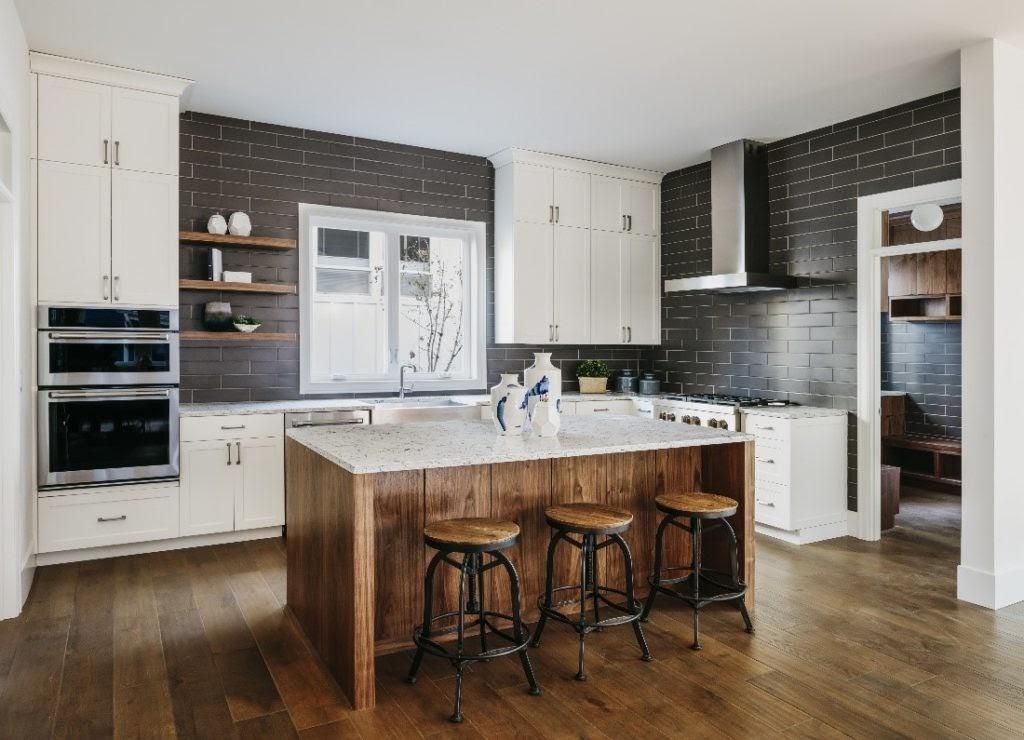 thiết kế phòng bếp theo phong cách hiện đại 2