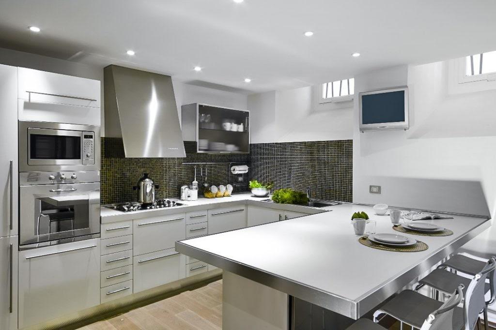 thiết kế phòng bếp theo phong cách hiện đại 7