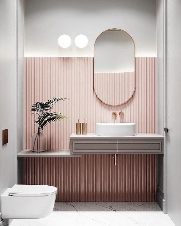 Top những mẫu phòng tắm màu hồng đỉnh của đỉnh 11