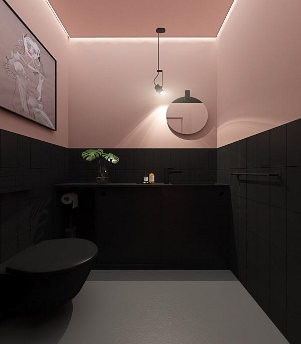 Top những mẫu phòng tắm màu hồng đỉnh của đỉnh 15