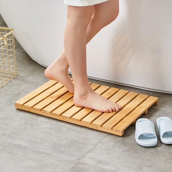 Thảm trải sàn bằng tre gỗ