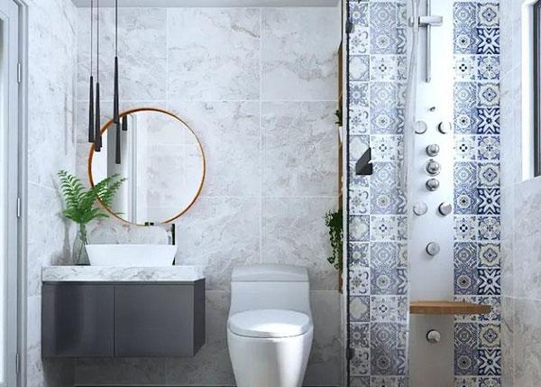 Treo gương trong phòng có diện tích hẹp